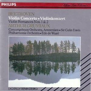Beethoven -  Violin Concerto Philips CD