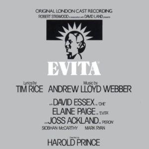 Andrew Lloyd Webber & Tim Rice - Evita Original Broadway Cast (1978)