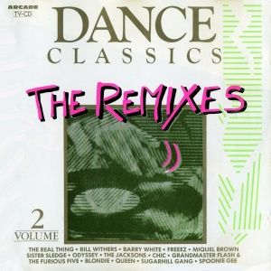 Cd v a dance classics the remixes volume 2 1989 for Dance music 1989